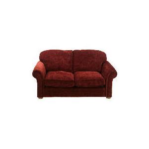 Photo of Finest Chichester Made To Order Velvet Sofa - Claret Furniture
