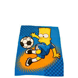 Bart Simpson Soccer Bart Fleece Blanket Reviews