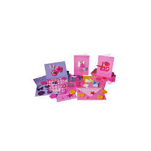 Photo of Funky Pink Card Making Kit Toy