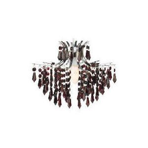 Photo of Tesco Waterfall Pendant, Berry Lighting