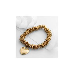 Photo of Adrian Buckley Stretch Bracelet With Heart Charm Jewellery Woman