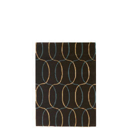 Tesco Circles Geometric Rug, Teal 120x170cm Reviews