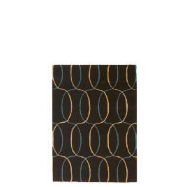 Tesco Circles Geometric Rug, Teal 120x170cm Reviews