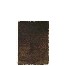 Tesco Extra Thick Shaggy Rug, Choc 160x230cm Reviews