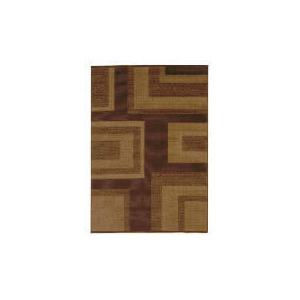 Photo of Tesco Loop & Pile Squares Rug Choc 120X170CM Furniture