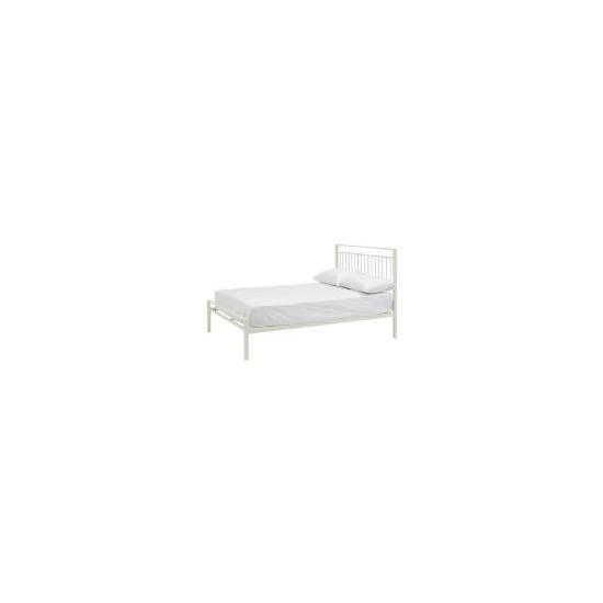 Mezen Double Bed, White