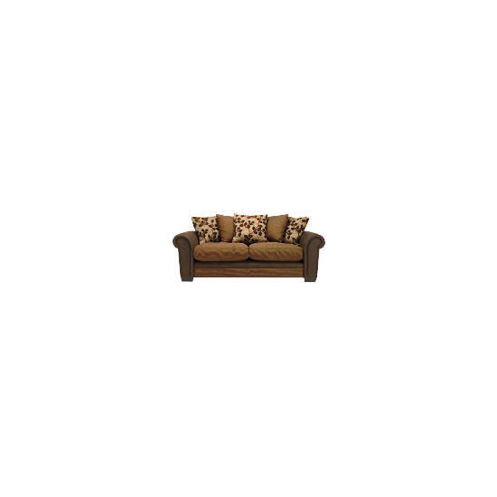 Virginia Large Sofa, Chocolate