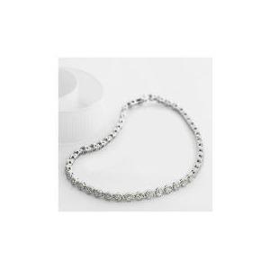 Photo of 9CT White Gold 1 Carat Diamond Bracelet Jewellery Woman