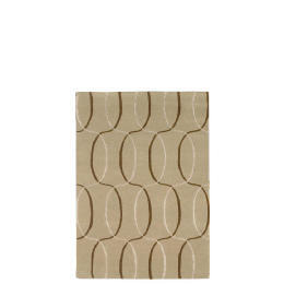 Tesco Circles Geometric Rug, Natural 120x170cm Reviews