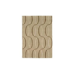 Photo of Tesco Circles Geometric Rug, Natural 120X170CM Rug