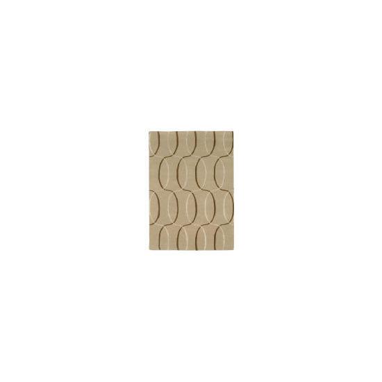 Tesco Circles Geometric Rug, Natural 120x170cm