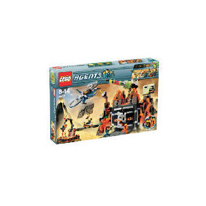 Photo of Lego Agents Exclusive: Mission 8 Volcano Base 8637 - Exclusive To Tesco Toy