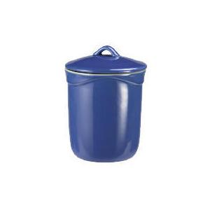 Photo of Le Creuset Curve Stoneware Storage Jar - Mediterranean Blue Kitchen Accessory