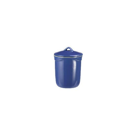 Le Creuset Curve stoneware storage jar - Mediterranean Blue