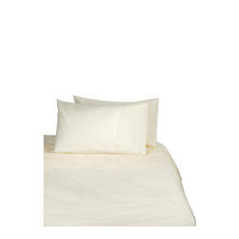 Tesco Pintuck Kingsize Duvet Set, Cream Reviews