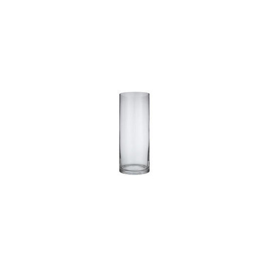 Glass Cylinder Vase 35cm