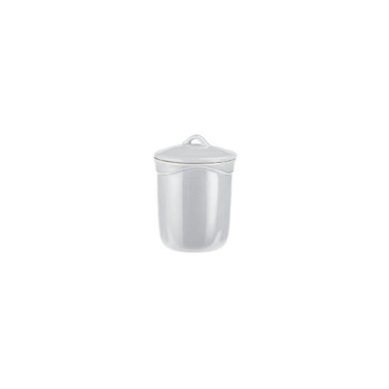 Le Creuset Curve stoneware storage jar (1L) colour Country Cream