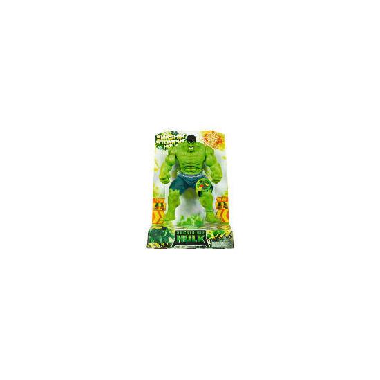 Hulk Smashing Stomping Electronic Figure