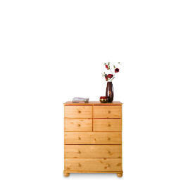 Vermont 3 & 4 drawer Chest, Antique Pine Reviews