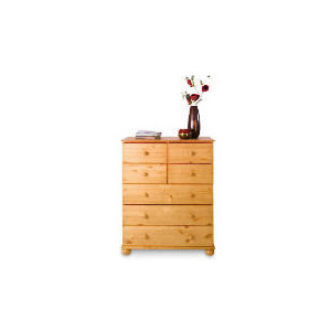 Photo of Vermont 3 & 4 Drawer Chest, Antique Pine Furniture