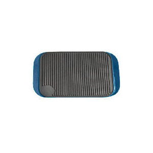 Photo of Finest Cast Iron Reversible Grill - Blue Cookware