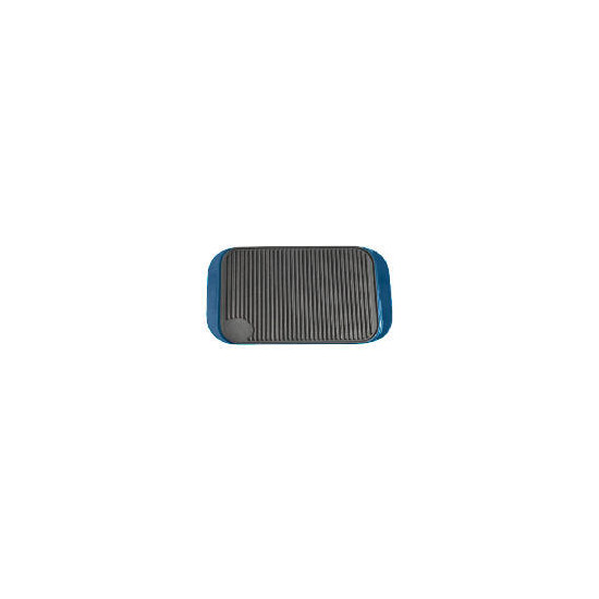 Finest Cast Iron Reversible Grill - Blue