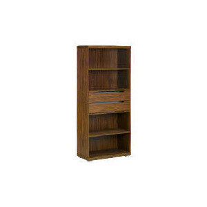 Photo of Seattle 2 Drawer 4 Shelf Storage, Walnut Effect Furniture