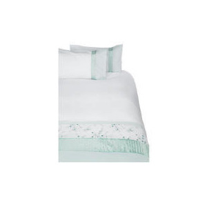 Photo of Tesco Geisha Luxury Embroidered King Duvet Set, Aqua Bed Linen