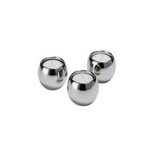 Photo of Finest Silver Plated Tealight Holders 3 Pack Home Miscellaneou