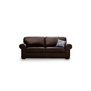 Photo of York Large Leather Sofa, Chocolate Furniture