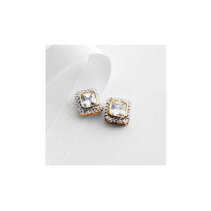 Photo of Adrian Buckley Cubic Zirconia Earrings Jewellery Woman