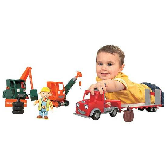 Bob The Builder Gripper & Grabber Playset With Packer