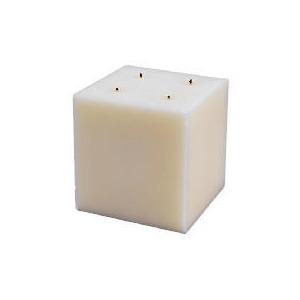 Photo of Tesco Square Multiwick Ivory 15X15CM Home Miscellaneou