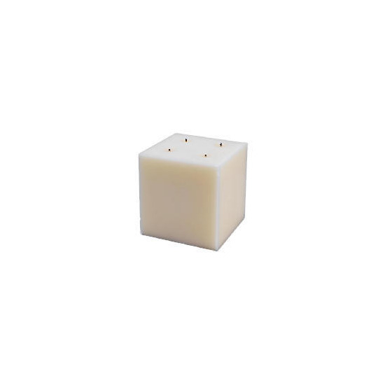 Tesco Square Multiwick Ivory 15X15cm