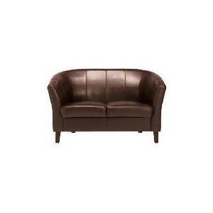 Photo of Greenwich Leather Sofa, Chocolate Furniture