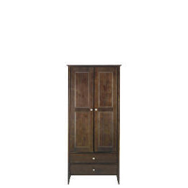 Fairhaven 2 door 2 drawer Wardrobe, Chocolate Reviews