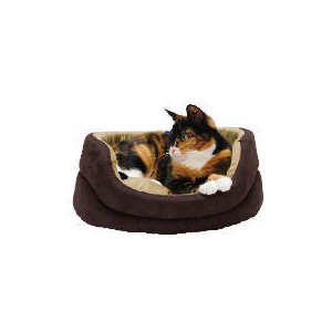 Photo of Oval Faux Suede Bed 40CM Home Miscellaneou