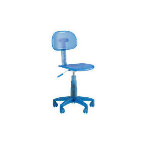 Photo of Sherbet Plastic Home Office Chair, Blue Furniture