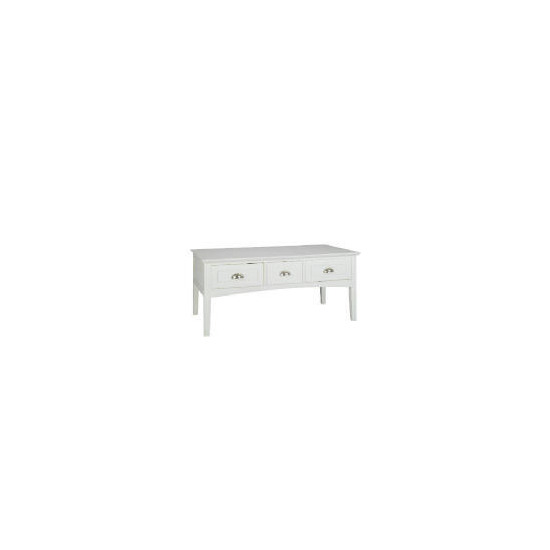 Connecticut 3 drawer Coffee Table
