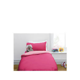Tesco Kids Single Reversible Duvet Set, Pink Reviews