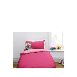 Tesco Kids Single Reversible Duvet Set, Pink Reviews