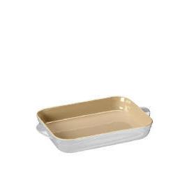 Le Creuset Curve stoneware 30cm rectangular baking dish colour Country Cream Reviews