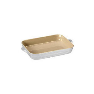 Photo of Le Creuset Curve Stoneware 30CM Rectangular Baking Dish Colour Country Cream Cookware