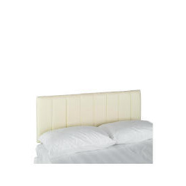 Haddon Faux Leather King Headboard, Cream Reviews