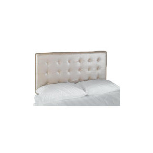 Photo of Midas King Headboard, Metallic Champagne Bedding
