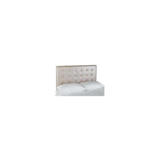 Midas King Headboard, Metallic Champagne