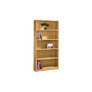 Photo of Value 5 Shelf 80CM Bookcase, Oak Effect Furniture