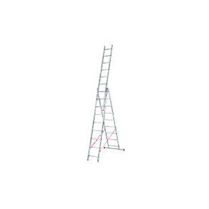 Photo of Abru Professional 2.3M Triple Combination Ladder Garden Equipment