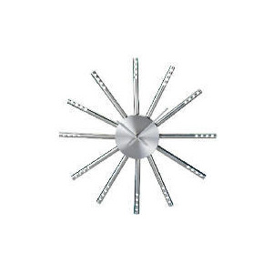 Photo of LC Silver Spoke Wall Clock Home Miscellaneou