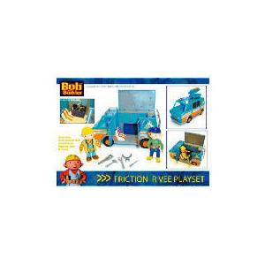 Photo of Bob The Builder R-Vee Van Playset With Figures Toy